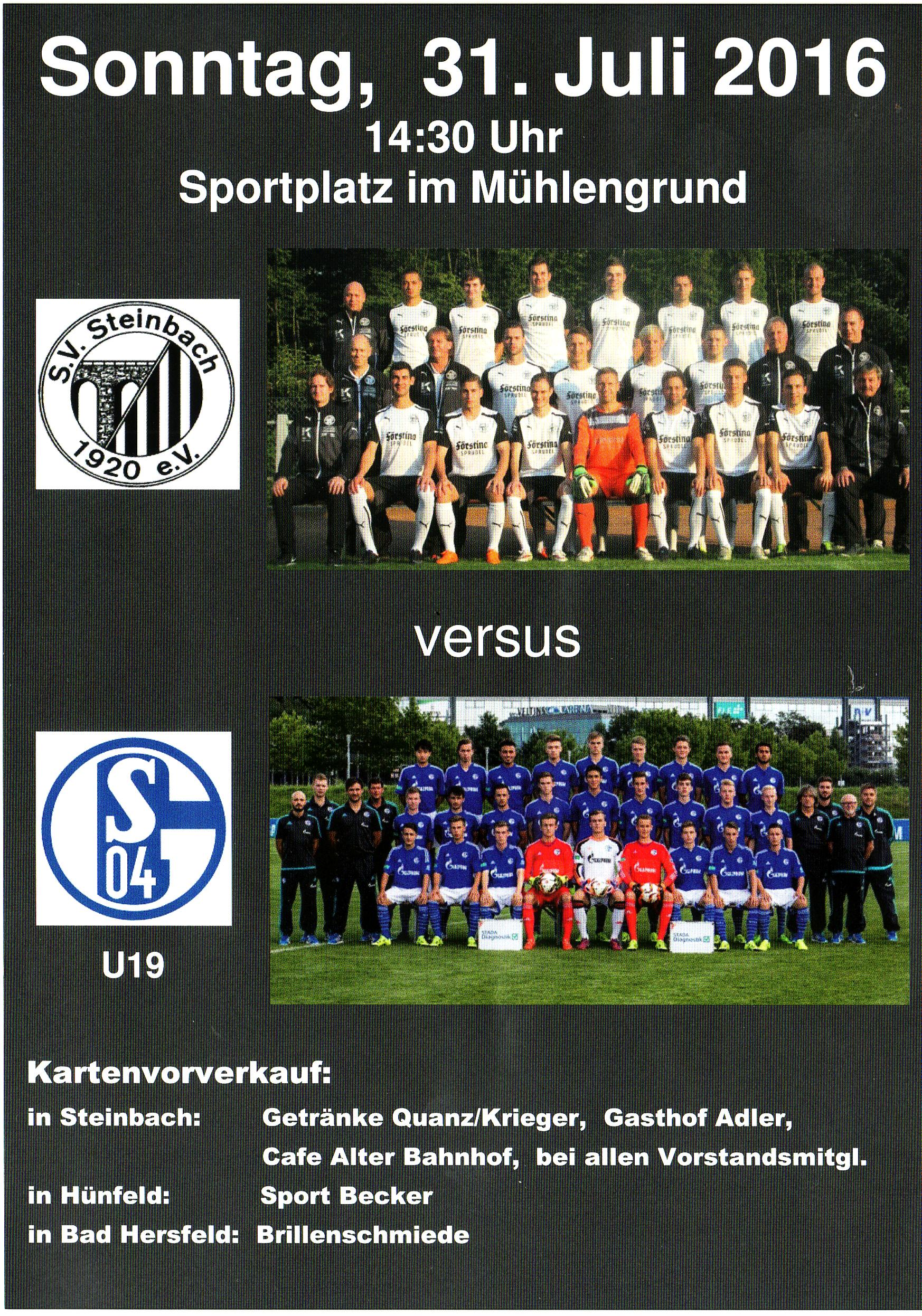 SVS - S04 31.7.16 Flyer A5 u. A6 Vorderseite