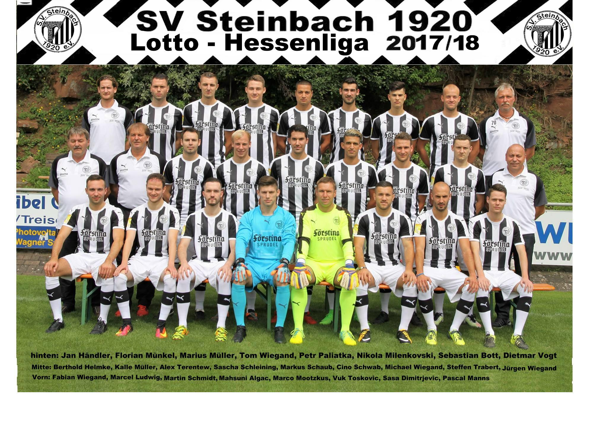 Team SVS Hessenliga 17-18 Namen